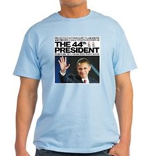 44th President/2012 Obama Headlines T-Shirt