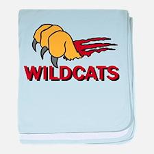 Wildcats baby blanket