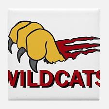 Wildcats Tile Coaster