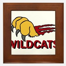 Wildcats Framed Tile