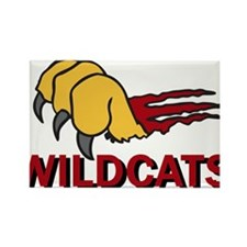 Wildcats Rectangle Magnet