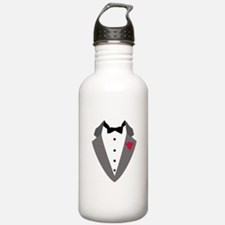 Black Tie Water Bottle