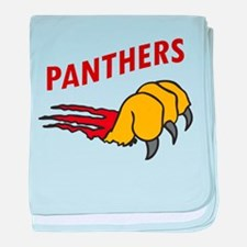 Panthers baby blanket
