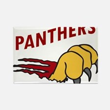 Panthers Rectangle Magnet