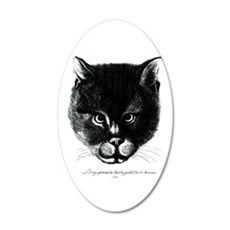 Kitty Face Wall Decal