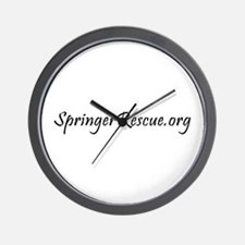 Springer Rescue Wall Clock