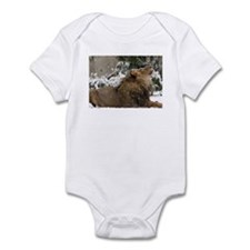 Lion in Snow Infant Bodysuit