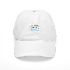 Aspen Crossed-Skis Badge Baseball Cap