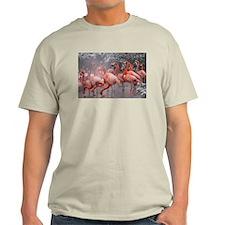 Flamingo Group Light T-Shirt