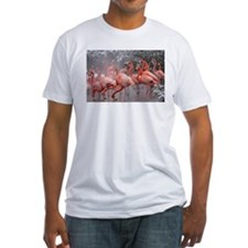 Flamingo Group Fitted T-Shirt
