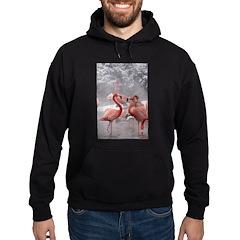 2 Flamingos Hoodie