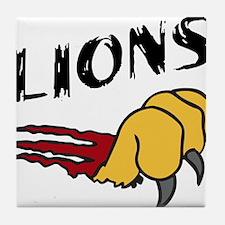Lions Tile Coaster