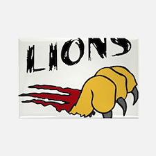 Lions Rectangle Magnet
