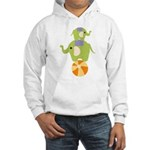 Elephants on a Ball Hooded Sweatshirt