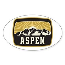 Aspen Sunshine Patch Decal