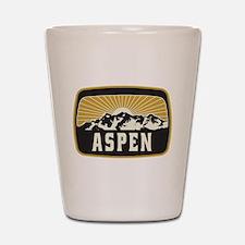 Aspen Sunshine Patch Shot Glass