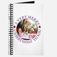 A Very Merry Unbirthday To You Journal