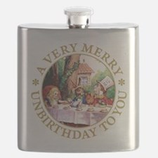 A Very Merry Unbirthday To You Flask
