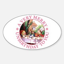 A Very Merry Unbirthday To You Decal