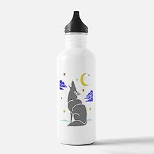 Grey Wolf Water Bottle