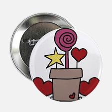 """Love Garden 2.25"""" Button"""