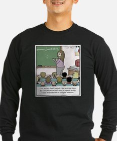 Using the Semicolon Long Sleeve T-Shirt
