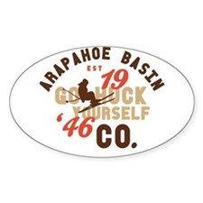 A-Basin Go Huck Yourself Decal