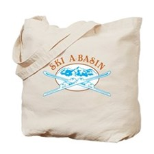 A-Basin Crossed-Skis Badge Tote Bag