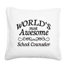 Awesome Square Canvas Pillow