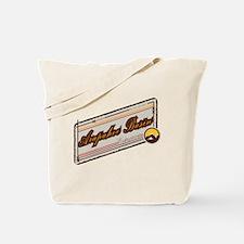 Arapahoe Basin Beige Patch Tote Bag