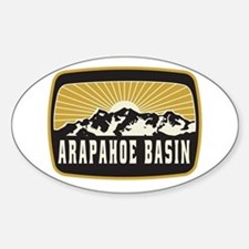 Arapahoe Basin Sunshine Patch Decal