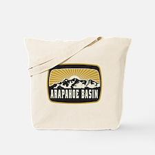 Arapahoe Basin Sunshine Patch Tote Bag