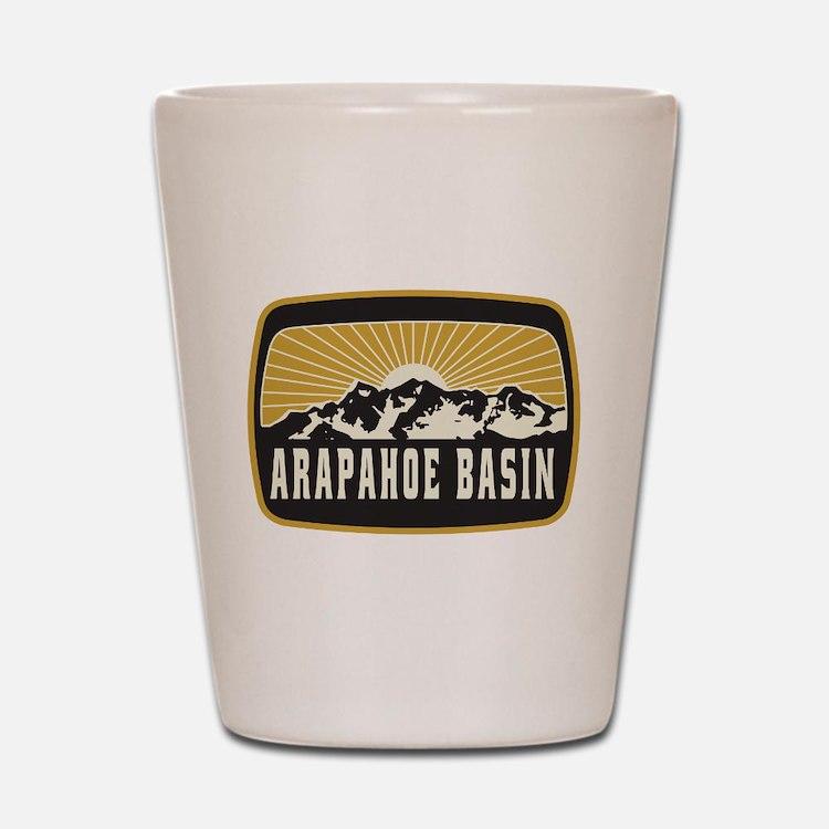 Arapahoe Basin Sunshine Patch Shot Glass