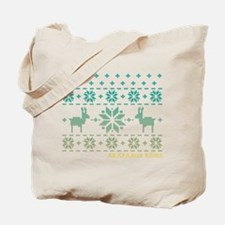 Arapahoe Basin Blue Winter Sweater Tote Bag