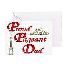 Pageant Dad Greeting Cards (Pk of 10)