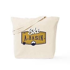 Ski Arapahoe Basin Patch Tote Bag