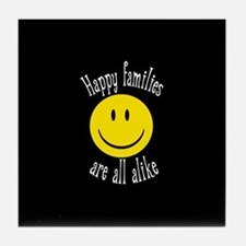Happy Families Tile Coaster