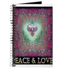 PEACE LOVE MANDALA Journal