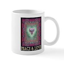 PEACE LOVE MANDALA Mug