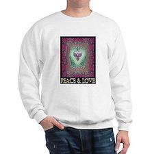 PEACE LOVE MANDALA Sweatshirt