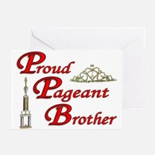Pageant Brother Greeting Cards (Pk of 10)