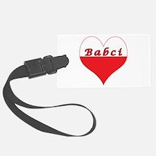 Babci Polish Heart Luggage Tag