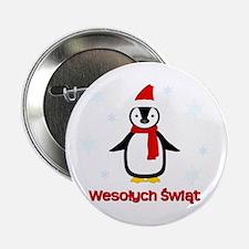 "Penguin - 2.25"" Button (10 pack)"