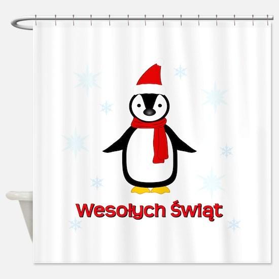 Penguin - Shower Curtain
