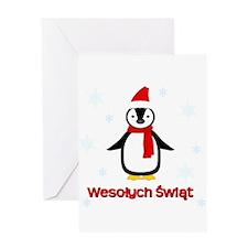 Penguin - Greeting Card