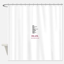 Islams Gifts to the World Shower Curtain