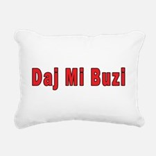 Daj Mi Buzi - Give me a Kiss Rectangular Canvas Pi