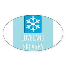 Loveland Snowflake Decal