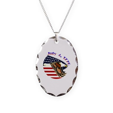 Order of the Purple Heart Necklace Oval Charm