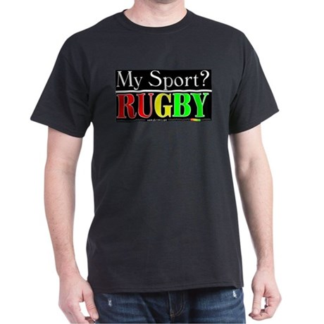 MY SPORT? Black T-Shirt